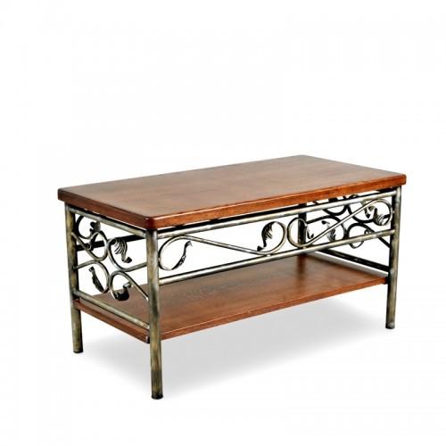 SALOMON stolik kawowy stylowy elegancki kute ozdobne elementy