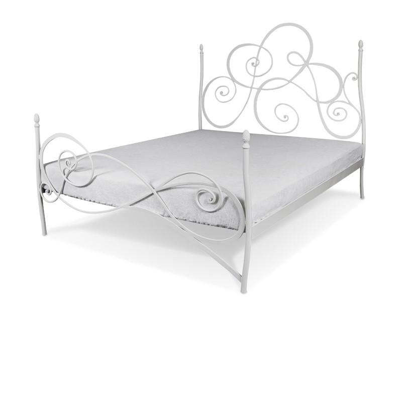 Gelinda Ręcznie Kute łóżko Metalowe 140x200 Cm Francke Art