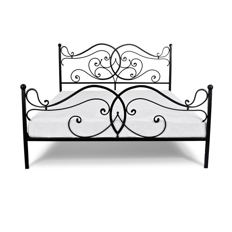 Ponti łóżko Metalowe Ozdobne Wezgłowie 160 Cm Francke Art