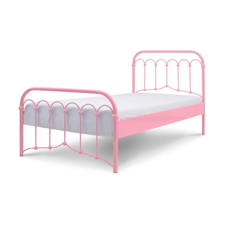 Avia łóżko Metalowe Retro Dla Dziecka 90x200 Cm Francke Art
