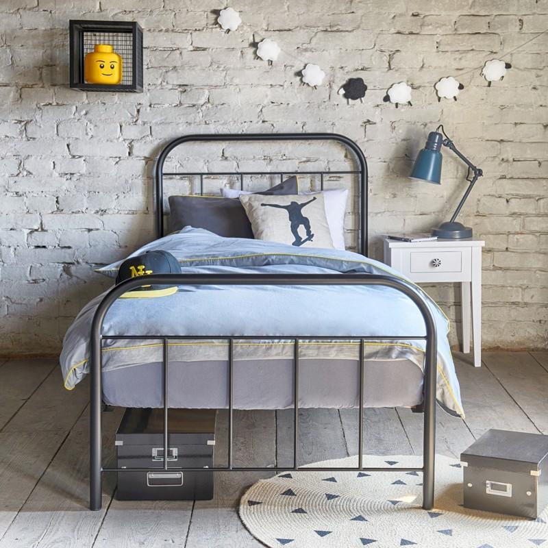 Avos łóżko Metalowe Dziecięce 120x200 Francke Art