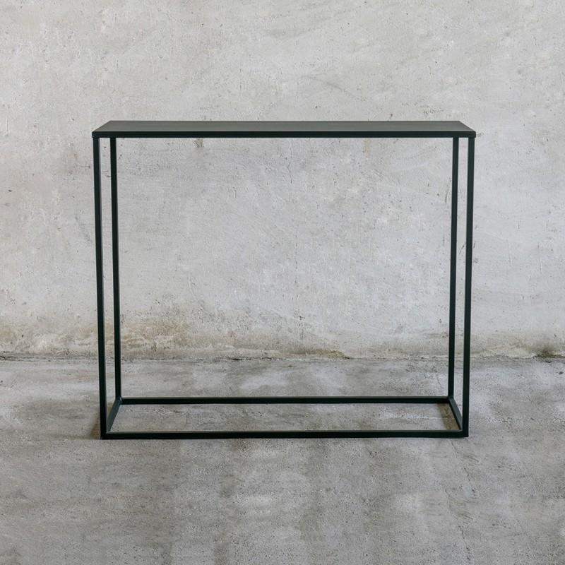SIMPLEX Metalowa designerska konsolka z metalu minimalizm styl skandynawski