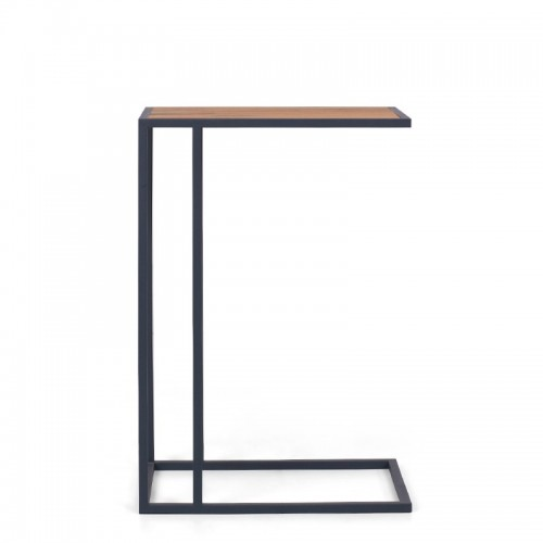VETA Pomocnik stolik pomocniczy do kanapy fotela styl skandynawski drewno dębowe nogi z metalu