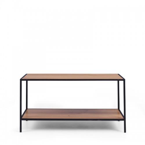 FINIS Stolik kawowy metal i drewno