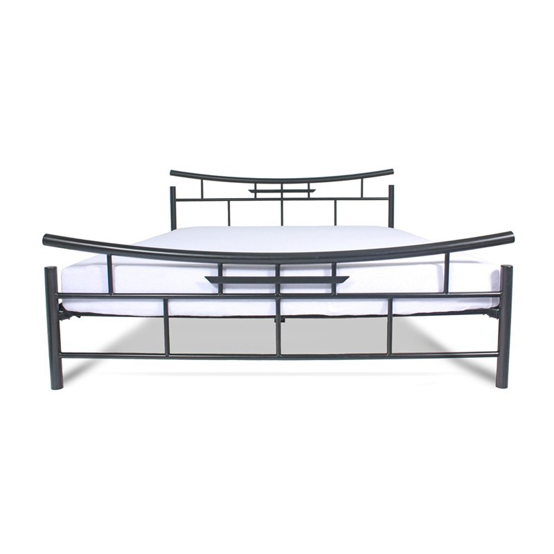 SEKO Łóżko metalowe podwójne japońskie 160x200 cm