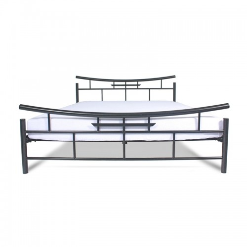 SEKO Łóżko metalowe styl orientalny minimalizm 140x200 cm
