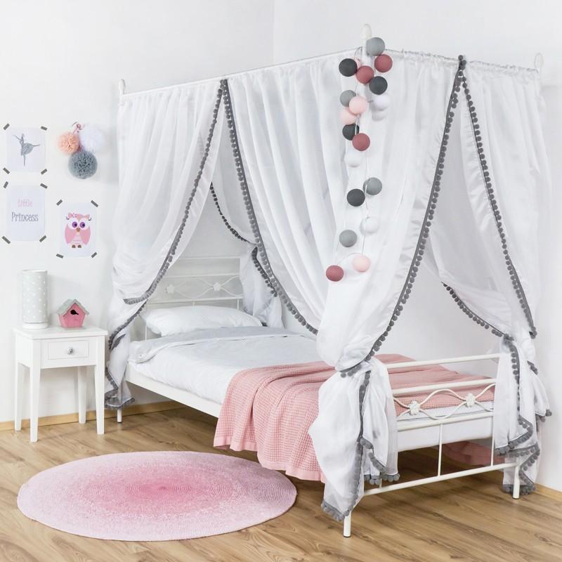 Floris Ii łóżko Z Baldachimem Dla Dziecka 90 Cm Francke Art